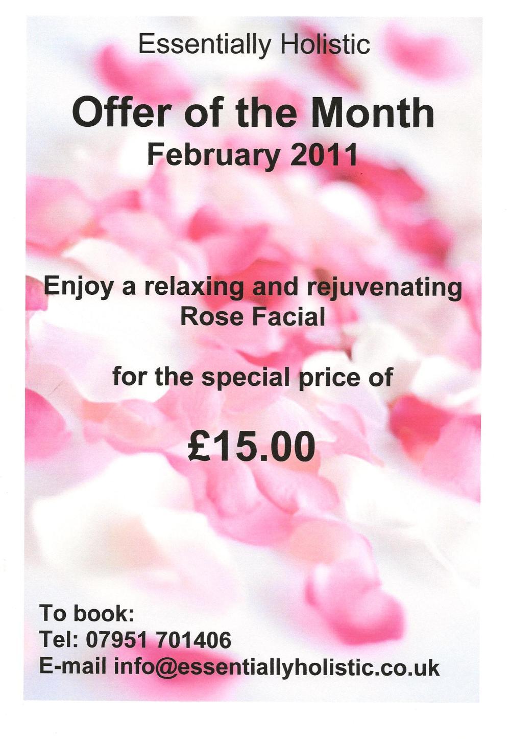 February offer - Rose Facial